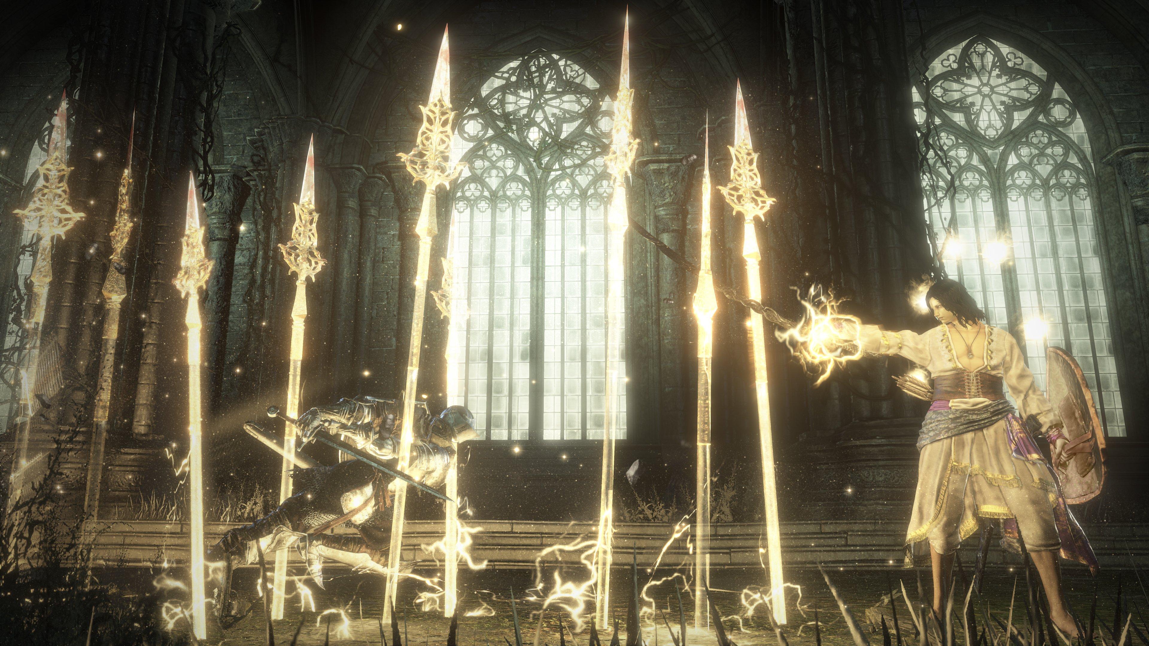 halflight spear of the church dark souls 3 wiki. Black Bedroom Furniture Sets. Home Design Ideas