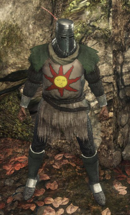 Armor of the Sun Set