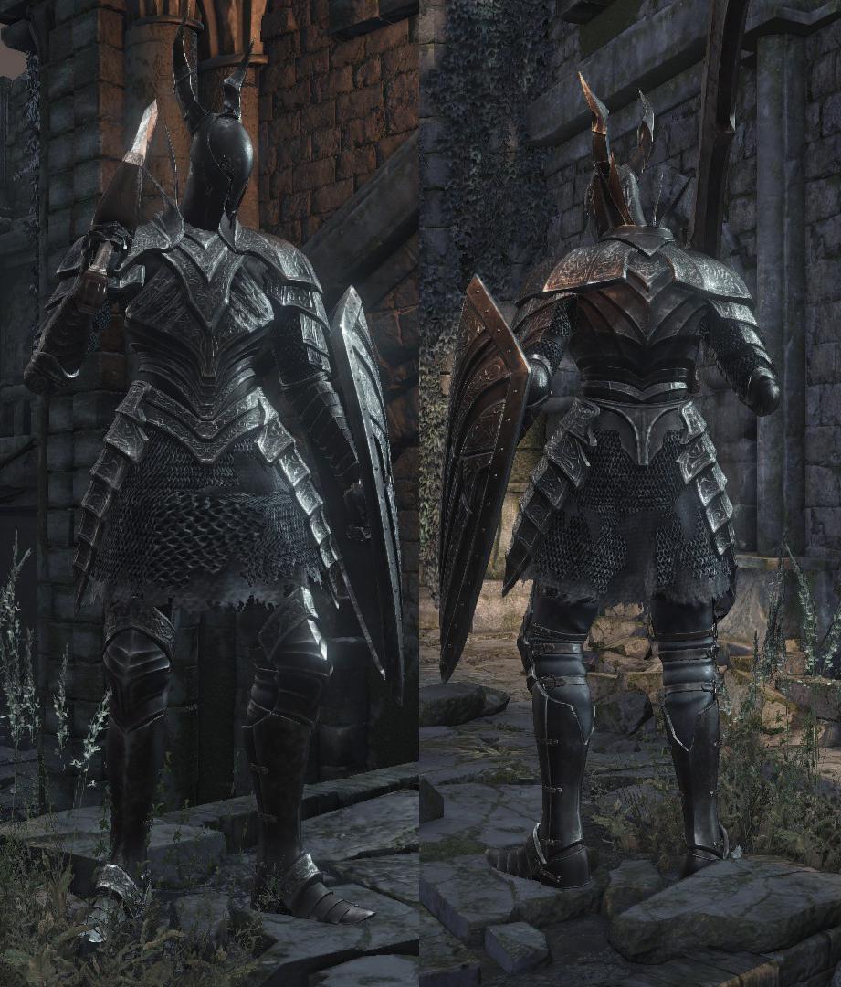 Dark Souls  Black Knight Glaive Build