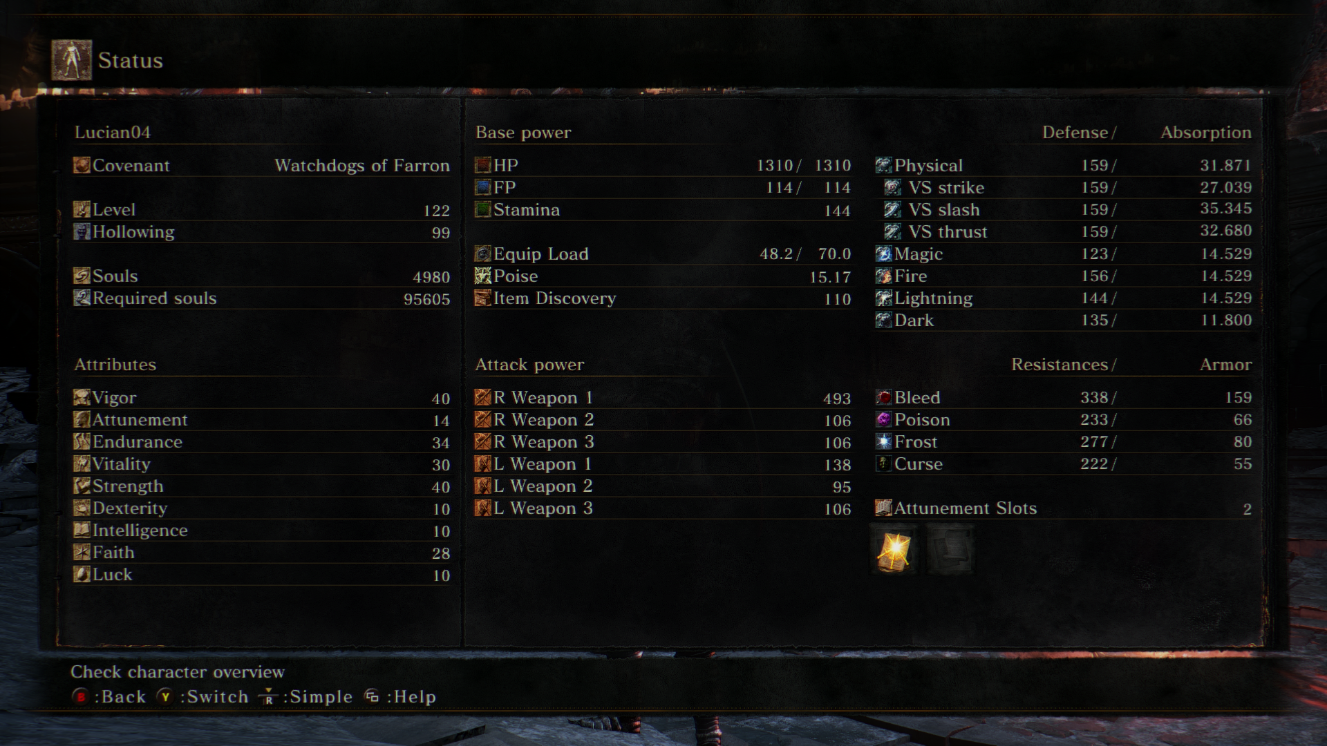 Dark Souls  Great Axe Pve Build