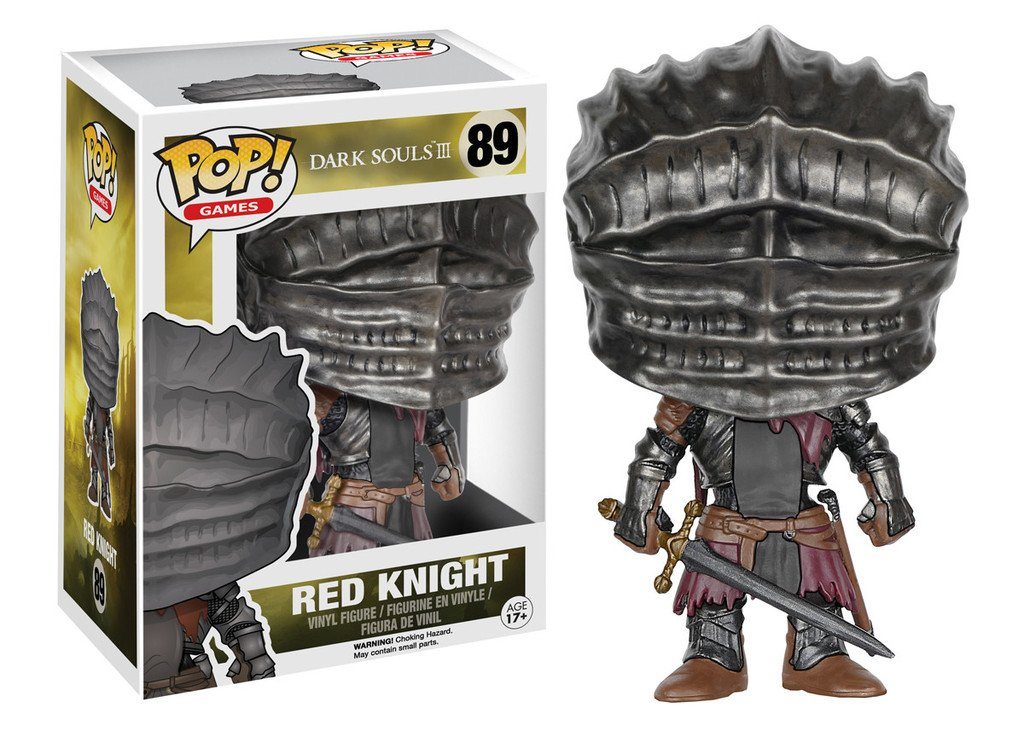 Red Knight / Soul of Cinder figure by Funko.