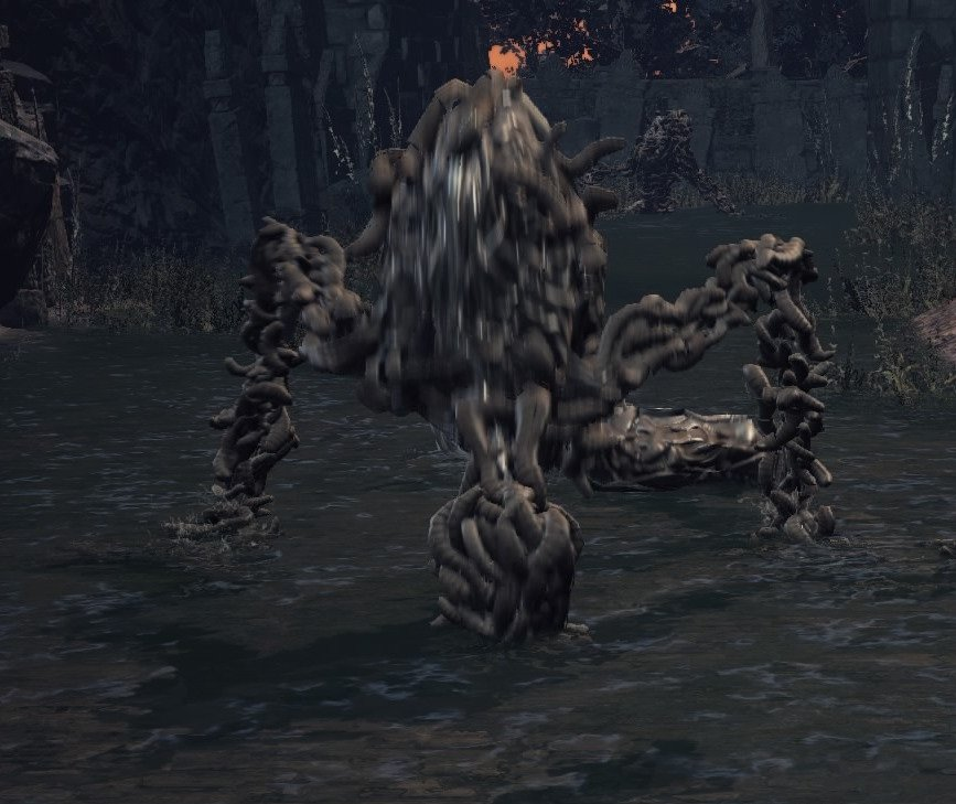 writhing rotten flesh dks3