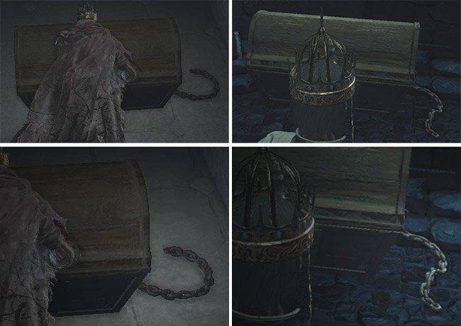 Regular versus Mimic chest Dark Souls 3 - How To Get The Mimic Head In Dark Souls 3