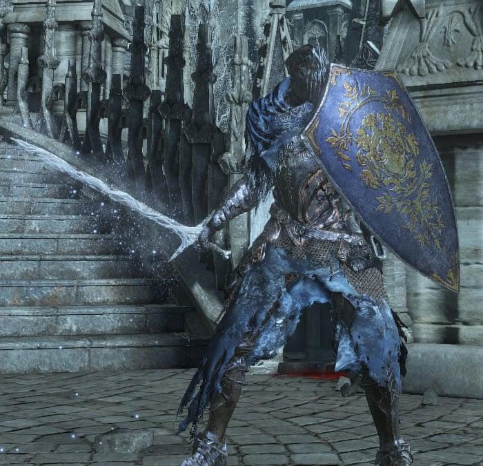 warrior of blue