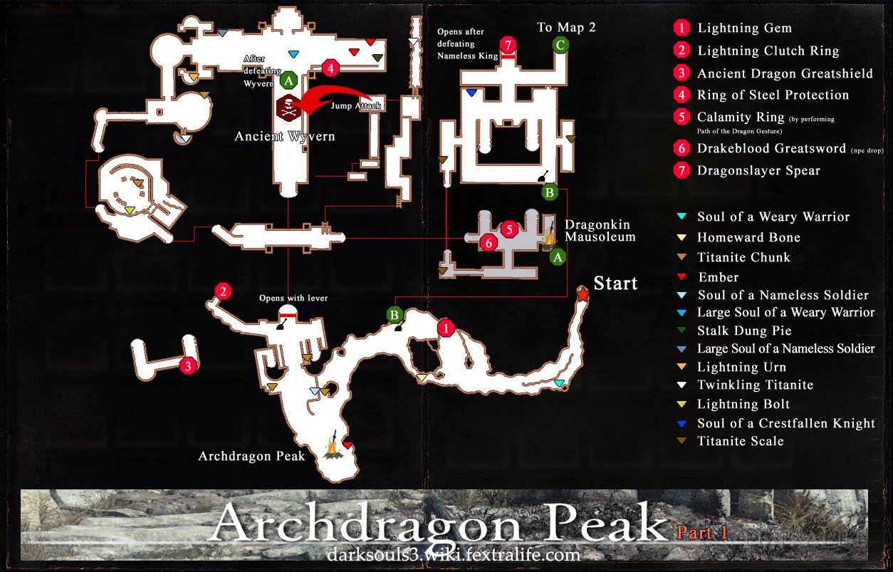 Archdragon Peak Map