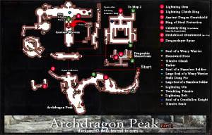Archdragon Peak Map 1 DKS3