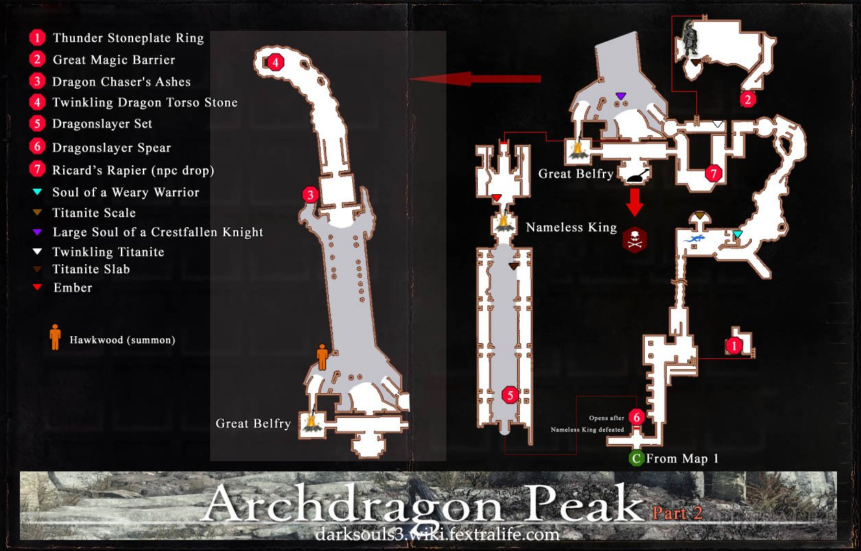 Archdragon Peak Map 2