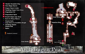 Archdragon Peak map 2 DKS3