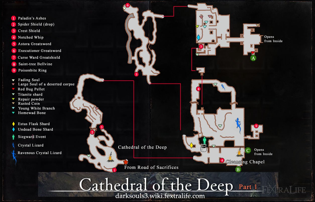 Cathedral of the Deep | Dark Souls 3 Wiki