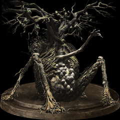 Image of the Curse-Rotted Greatwood achievement/trophy.