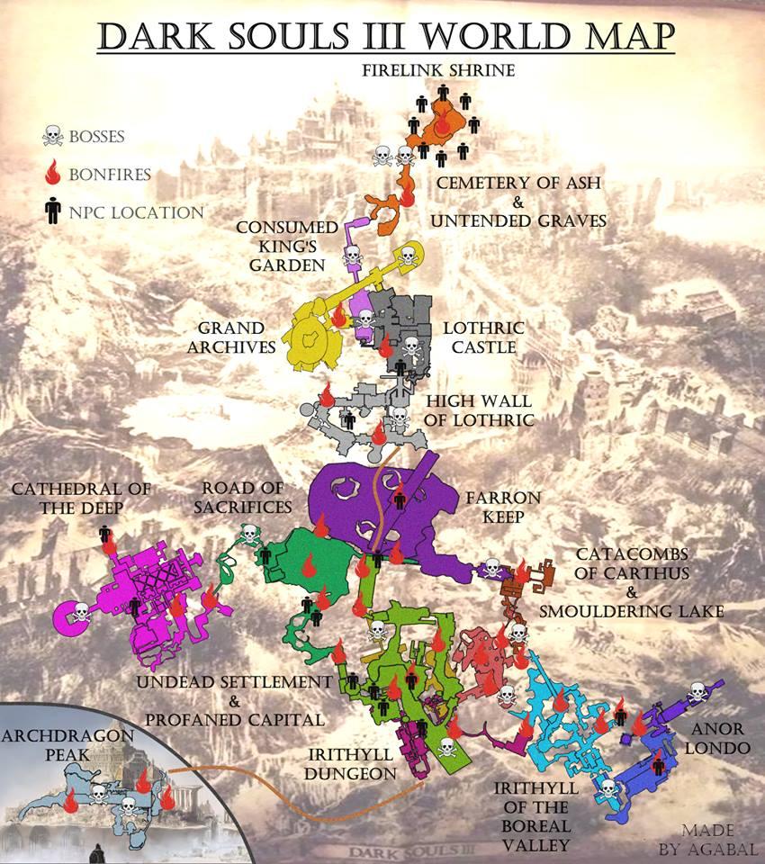 Maps Dark Souls 3 Wiki