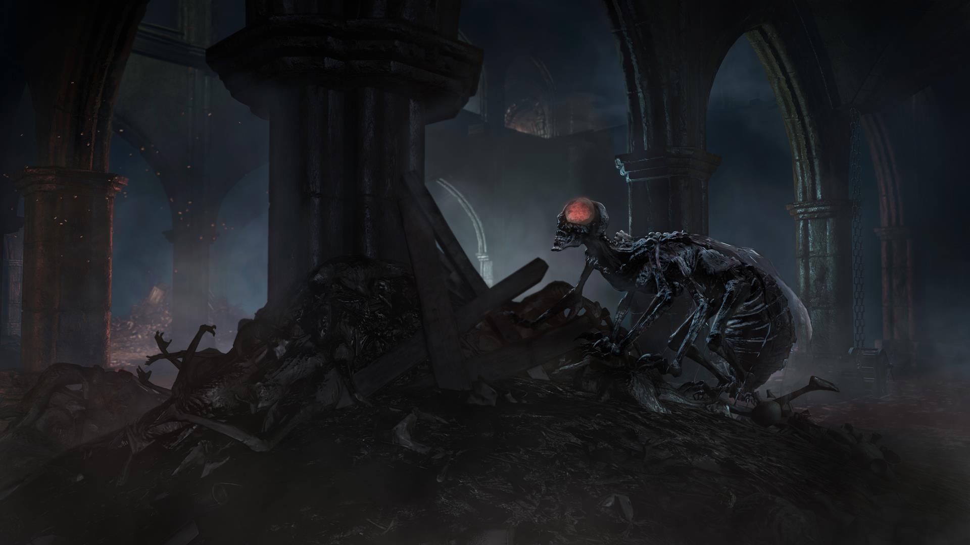 DARK SOULS 3 - Ashes of Ariandel Trailer (DLC) - YouTube