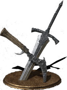 Dark Souls  Old Wolf Curved Sword Build