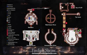 Firelink Shrine Map