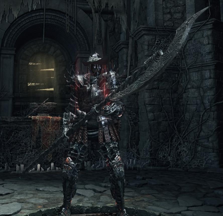 Dark Souls  Gundyr Halberd Build