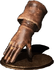 Hard Leather Gauntlets