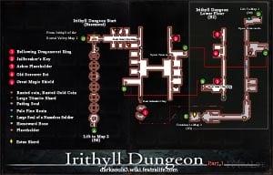 Irithyll Dungeon Map 1 DKS3
