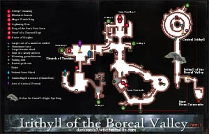 Irithyll of the Boreal Valley Map DKS3