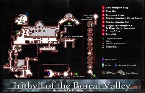 Irithyll of the Boreal Valley Map 4 DKS3