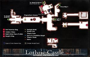 Lothric Castle Map 3 DKS3