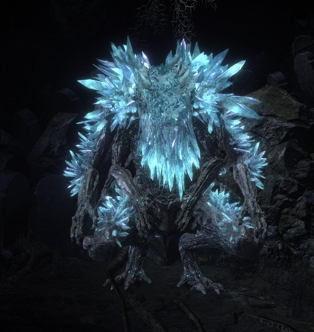 Ravenous Crystal Lizard | Dark Souls 3 Wiki