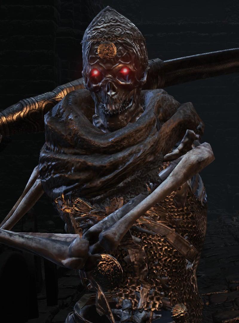 Dark Souls  Dark Sword Build