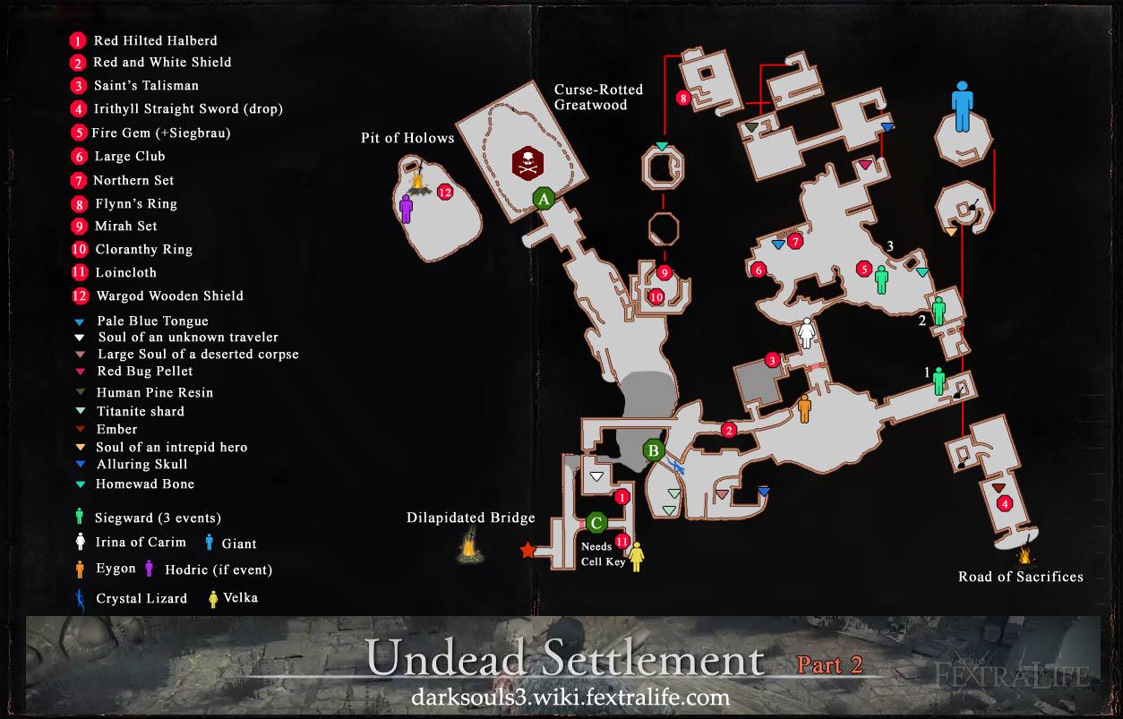 dark souls 3 karte Giant of the Undead Settlement | Dark Souls 3 Wiki