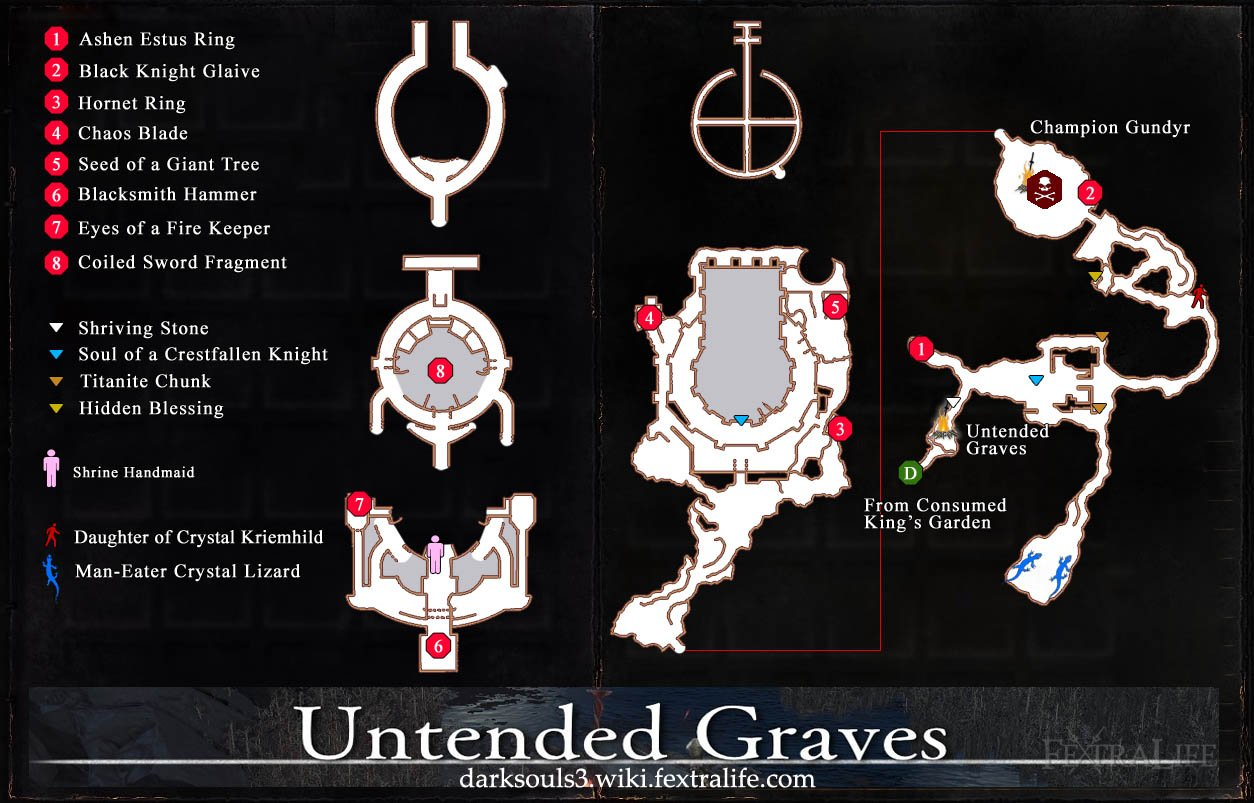 Untended Graves Map