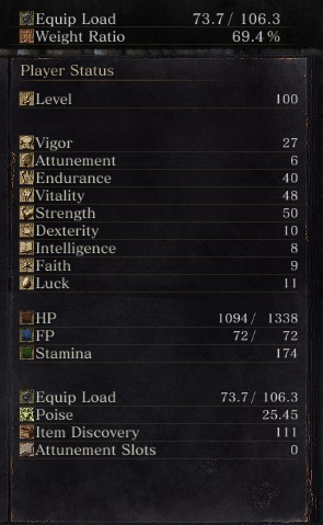 Strength Faith Build Dark Souls 3